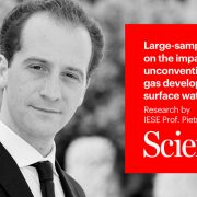 Prof. Pietro Bonetti finds evidence tying fracking to increased salt concentrations in surface waters